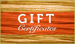 Gift Certificates for Amish Country Lodging